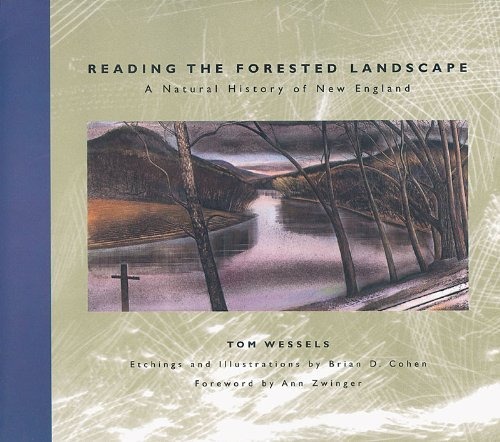 Reading the Forested Landscape A Natural History of New England N/A edition cover