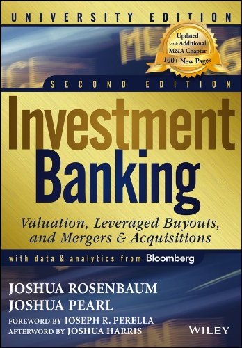 Investment Banking Valuation, Leveraged Buyouts, and Mergers and Acquisitions 2nd 2013 edition cover