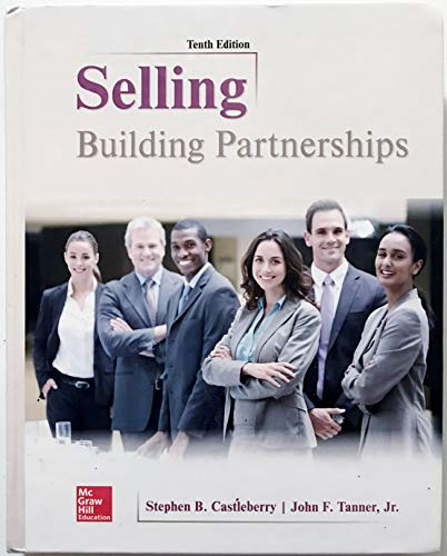 SELLING:BUILDING PARTNERSHIPS           N/A 9781259573200 Front Cover