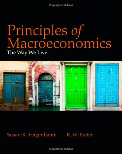 Principles of Macroeconomics The Way We Live  2012 edition cover