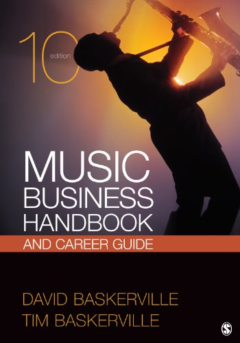 Music Business Handbook and Career Guide  10th 2013 9781452242200 Front Cover