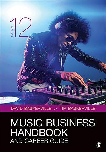 Music Business Handbook and Career Guide  12th 2020 9781544341200 Front Cover