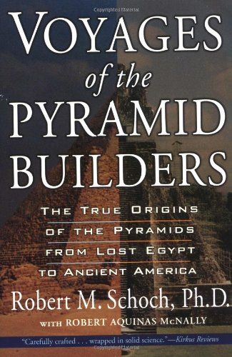 Voyages of the Pyramid Builders   2004 edition cover