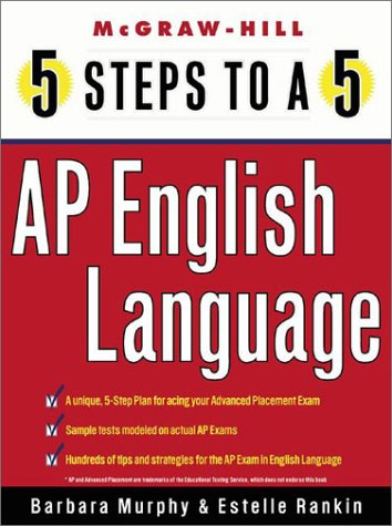 5 Steps to a 5 on the Advanced Placement Examinations English Language  2002 9780071377201 Front Cover