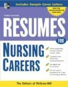 Resumes for Nursing Careers  3rd 2007 (Revised) 9780071476201 Front Cover