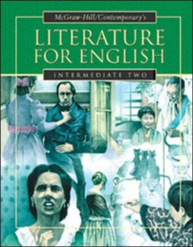 Literature for English, Intermediate Two   2003 (Student Manual, Study Guide, etc.) edition cover