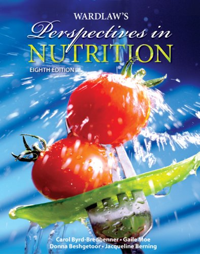Wardlaw's Perspectives in Nutrition  8th 2009 edition cover