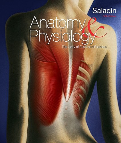 Anatomy and Physiology The Unity of Form and Function 5th 2010 edition cover
