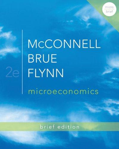 Microeconomics Brief Edition  2nd 2013 edition cover