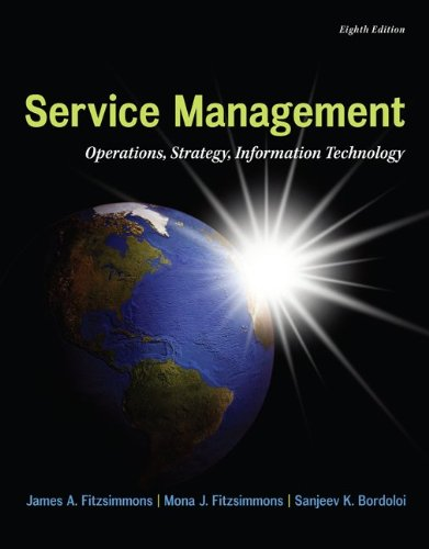Service Management + Service Model Software Access Card:  8th 2013 edition cover