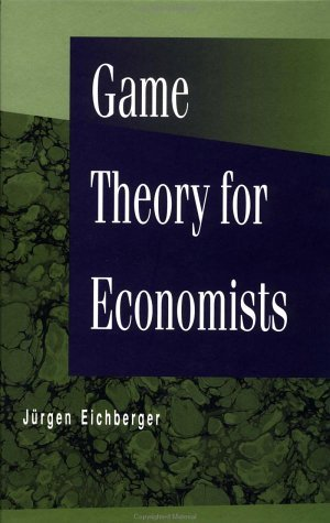 Game Theory for Economists   1993 9780122336201 Front Cover