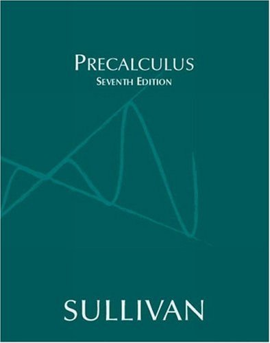Precalculus  7th 2005 (Revised) edition cover