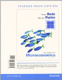 Foundations of Microeconomics, Student Value Edition Plus NEW MyEconLab with Pearson EText -- Access Card Package  7th 2015 edition cover