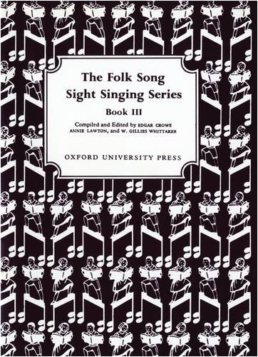 Folk Song Sight Singing Book 3  N/A edition cover