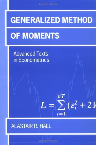 Generalized Method of Moments   2005 edition cover