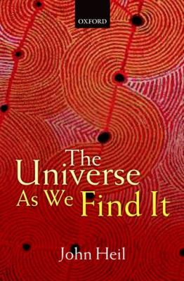 Universe As We Find It   2012 9780199596201 Front Cover
