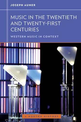 Music in the Twentieth and Twenty-First Centuries   2013 edition cover