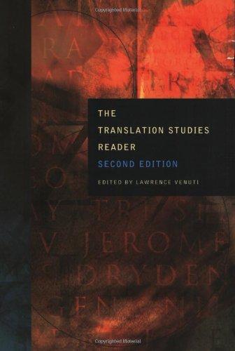 Translation Studies Reader  2nd 2004 (Revised) edition cover