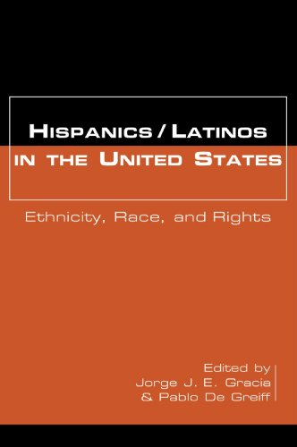 Hispanics/Latinos in the United States Ethnicity, Race, and Rights  2000 edition cover
