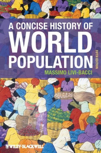 Concise History of World Population  5th 2012 edition cover