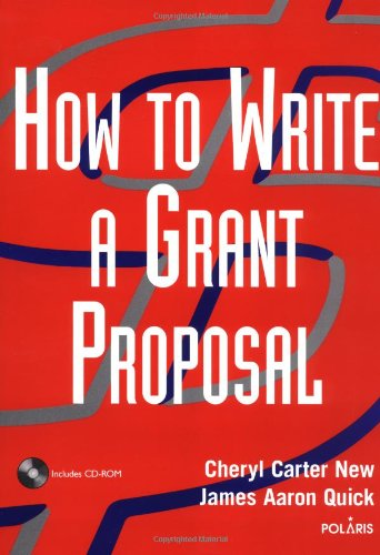 How to Write a Grant Proposal   2003 edition cover