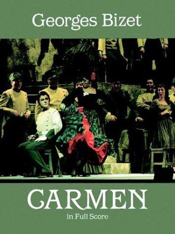 Carmen in Full Score  N/A edition cover