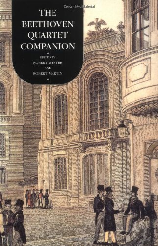 Beethoven Quartet Companion   1994 edition cover