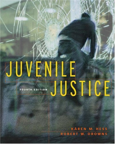 Juvenile Justice  4th 2004 (Revised) edition cover