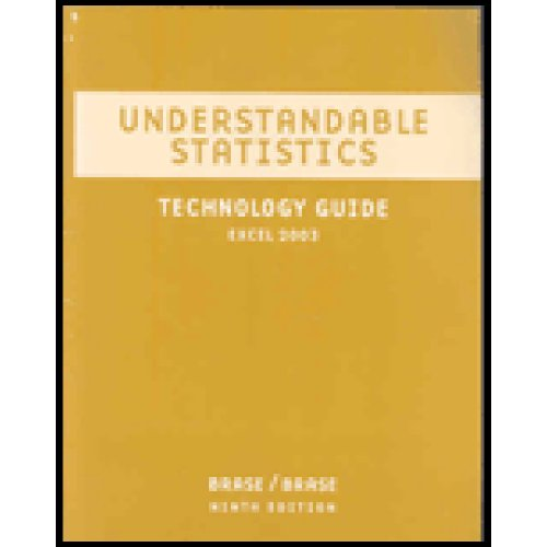 Understandable Statistics Concepts and Methods 9th 2009 9780618950201 Front Cover