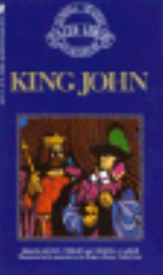 King John - Oxford Shakespeare  N/A 9780671669201 Front Cover