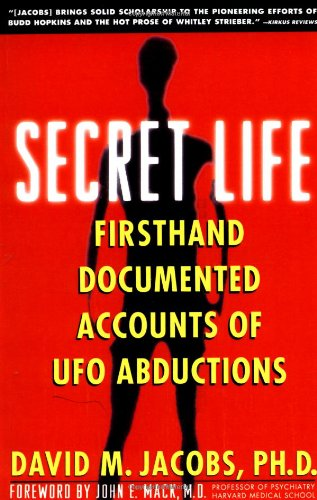 Secret Life Firsthand, Documented Accounts of UFO Abductions  1993 edition cover