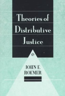 Theories of Distributive Justice   1996 edition cover