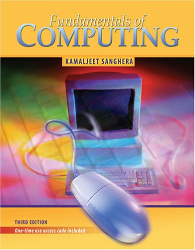 Fundamentals of Computing 3rd 2007 (Revised) edition cover