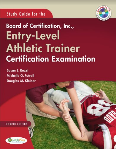Study Guide for the Board of Certification, Inc. , Entry-Level Athletic Trainer Certification Examination  4th (Revised) edition cover