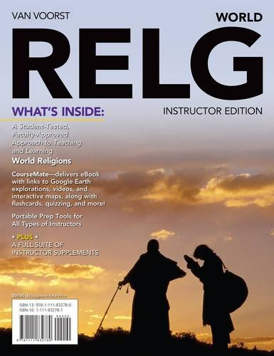 Relg World (with Religion CourseMate with eBook Printed Access Card)  2013 edition cover
