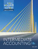 Intermediate Accounting: 16th 2016 9781118743201 Front Cover