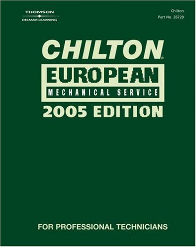 European Mechanical Service   2005 9781401867201 Front Cover
