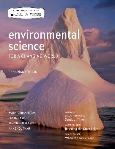 Environmental Science for a Changing World: Canadian Edition  2013 edition cover