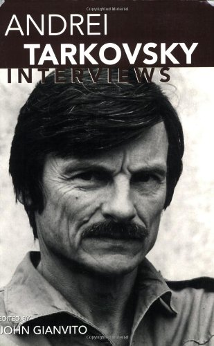 Andrei Tarkovsky Interviews  2006 edition cover