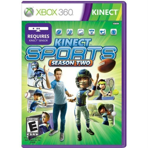 Kinect Sports Season Two Xbox 360 artwork
