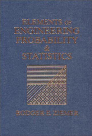 Elements of Engineering Probability and Statistics   1997 edition cover