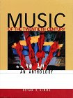 Music of the Twentieth Century An Anthology 2nd 1986 edition cover