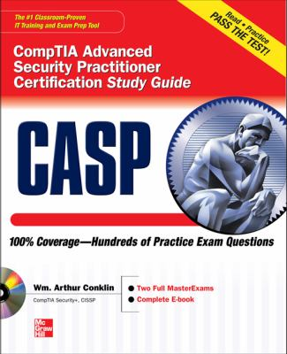 CASP CompTIA+ Advanced Security Practitioner Certification   2013 edition cover