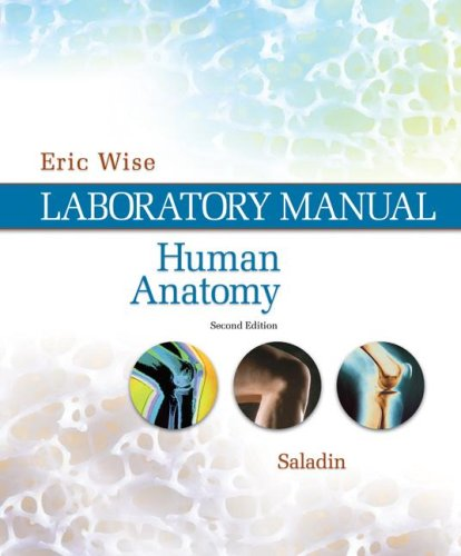 Human Anatomy Laboratory Manual 2nd 2008 9780073347202 Front Cover