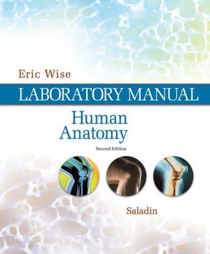 Human Anatomy Laboratory Manual 2nd 2008 edition cover