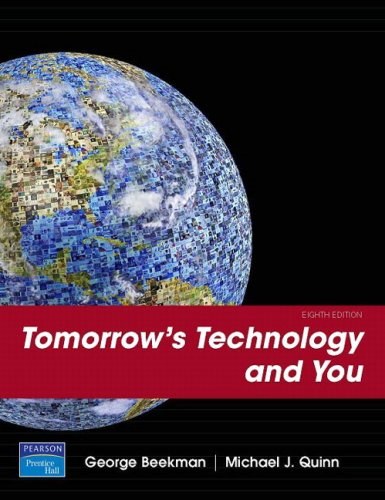 Tomorrow's Technology and You  8th 2008 edition cover