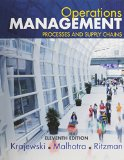 Operations Management Processes and Supply Chains Plus MyOMLab with Pearson EText -- Access Card Package 11th 2016 edition cover