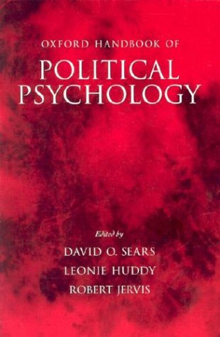 Oxford Handbook of Political Psychology   2003 9780195162202 Front Cover