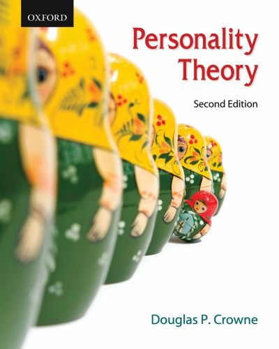 Personality Theory  2nd 2009 edition cover
