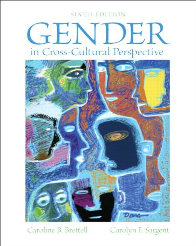 Gender in Cross-Cultural Perspective  6th 2013 edition cover